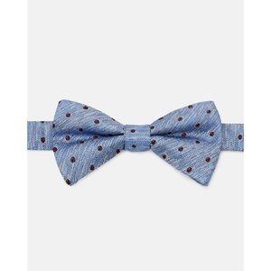 NWT Ted Baker Trubow Textures Silk Bow Tie